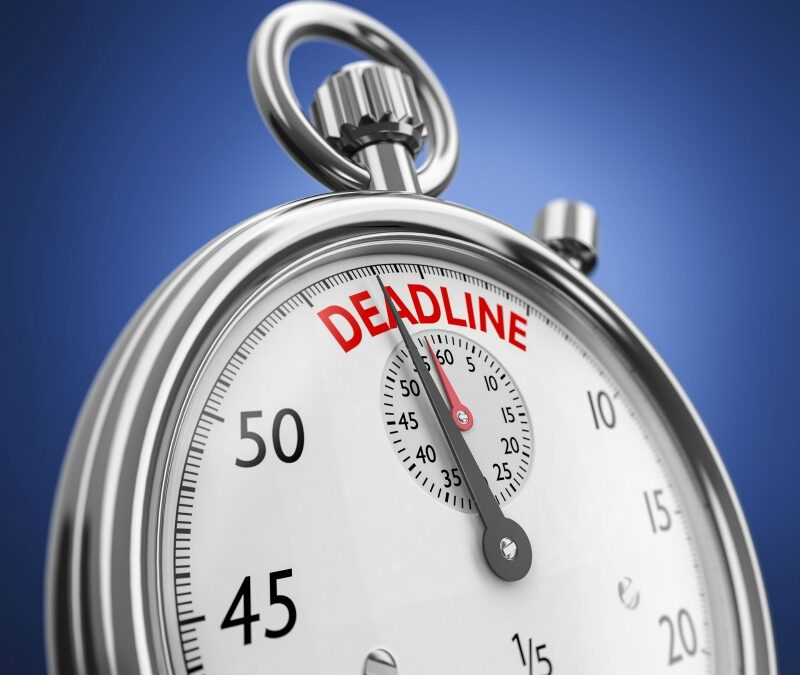 De twijfelachtige noodzaak van deadlines4 min read