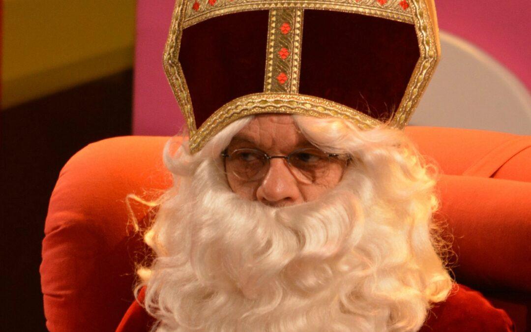 De baard van Sinterklaas