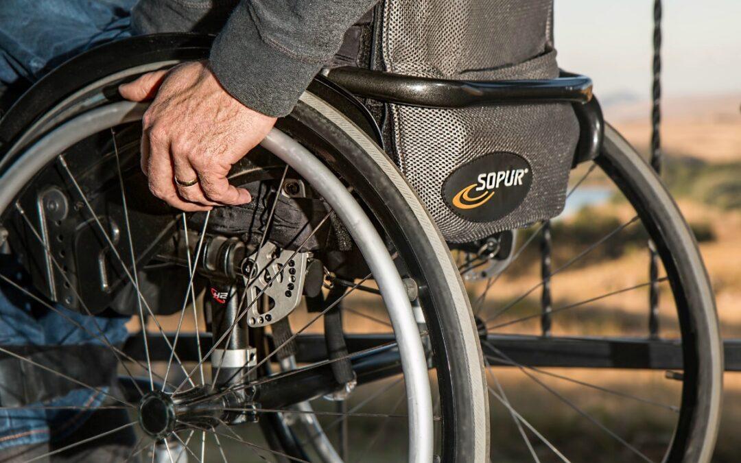 Als de wielen van je rolstoel dreigen af te vallen