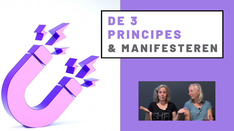 De 3 Principes & manifesteren